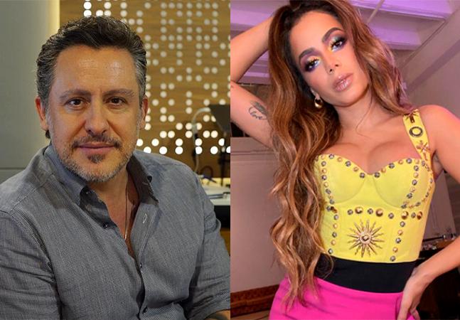 Anitta diz para Rick Bonadio 'fazer música e exportar para o mundo' após crítica por funk no 'Grammy'