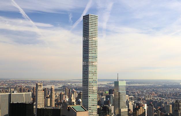O edifício 432 Park Avenue