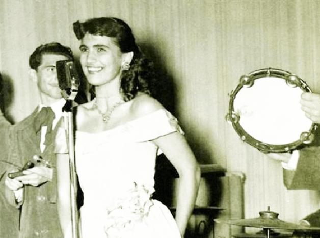 Hebe Camargo nos anos 1940
