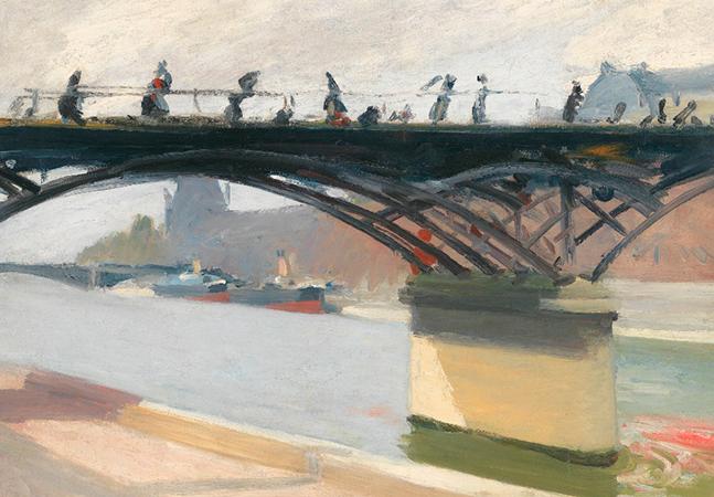 Quando o pintor Edward Hopper foi a Paris para se tornar um mestre
