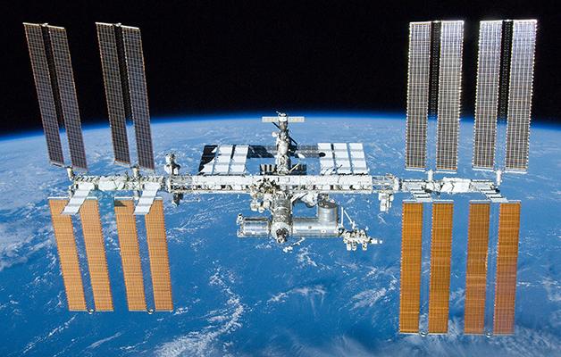A Estação Espacial Internacional