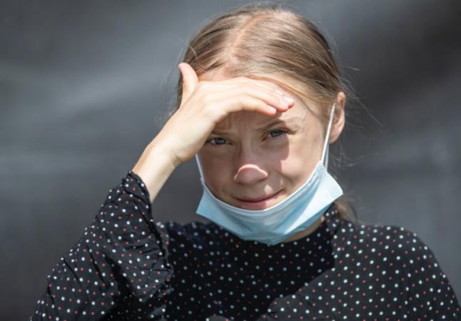 Pênis estão encolhendo por aquecimento global. 'Te vejo na próxima greve', diz Greta