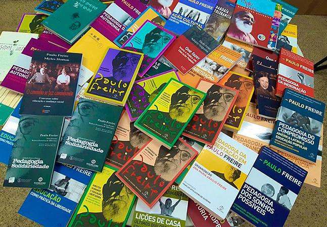 Paulo Freire tem a obra completa doada por viúva à biblioteca pública do Maranhão
