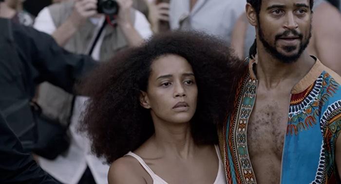 """Taís Araújo e Alfred Enoch em filme """"Medida Provisória"""""""