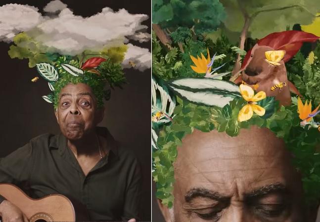 Gilberto Gil estreia no TikTok e garante 40 mil novas árvores para a Mata Atlântica