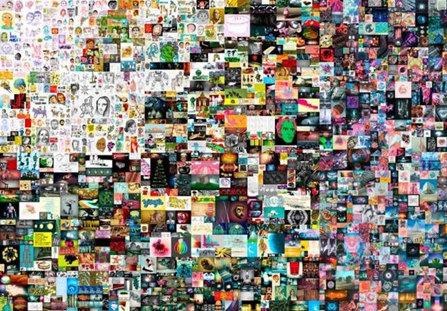 Obra de arte digital faz história e é leiloada por R$ 382 milhões