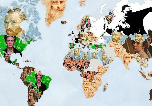 Google: site cria algoritmo para descobrir artista mais importante de cada país