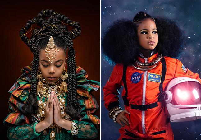 Ensaio cintilante de crianças negras esmaga estereótipos e padrões de branquitude
