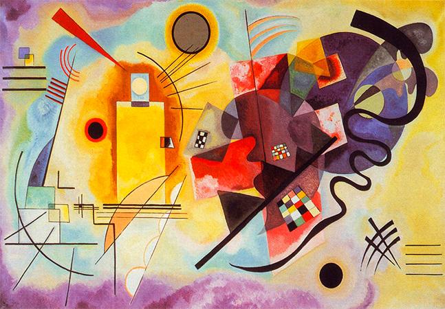 Escute um quadro de Kandinsky pelo novo projeto do Google que nos permite ouvir cores