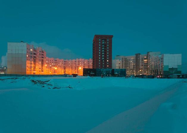 O frio e o escuro em Lacútia, na Rússia