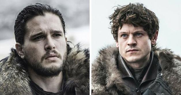 Iwan Rheon e Jon Snow