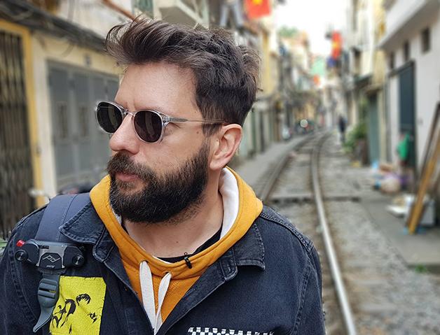 O produtor musical Lucas Mayer