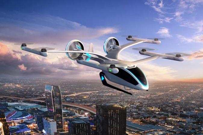 Embraer divulga vídeo com detalhes de 1ª carro voador elétrico