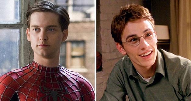 O ator James Franco e o Homem-aranha
