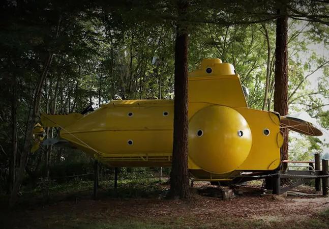 O Yellow Submarine da vida real está disponível para aluguel no Airbnb