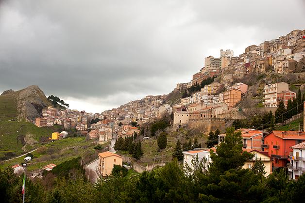 A cidade de Troina