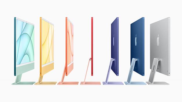 Os novos modelos do iMac
