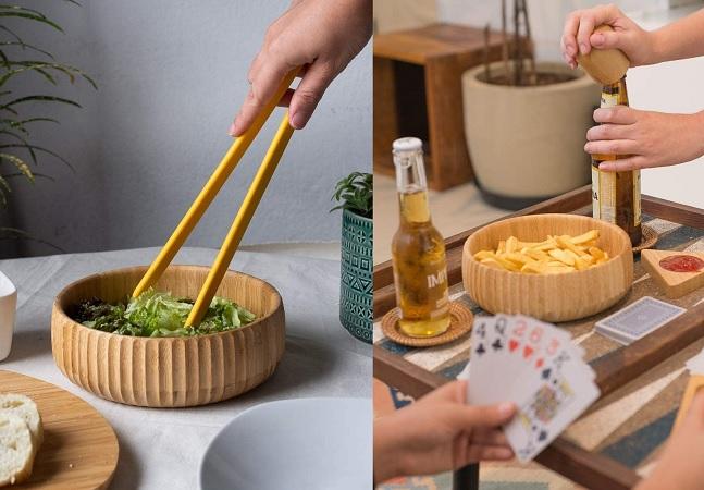 Utensílios de bambu: 16 itens que vão deixar sua cozinha linda e sustentável