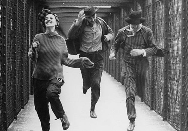 """Cena do filme """"Jules e Jim"""", de Truffaut"""