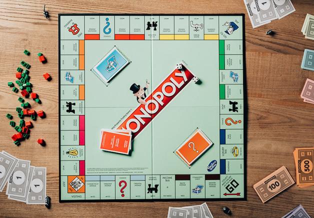 Tabuleiro de Monopoly