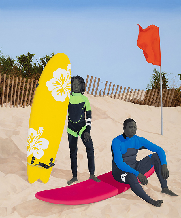 """""""An Ocean Away"""", quadro de Amy Sherald"""