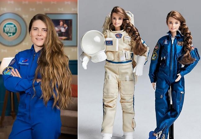 Barbie inspirada em Anna Kikina, única cosmonauta mulher, incentiva crianças a sonhar