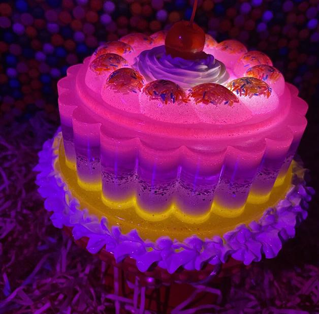 Luminária de gelatina