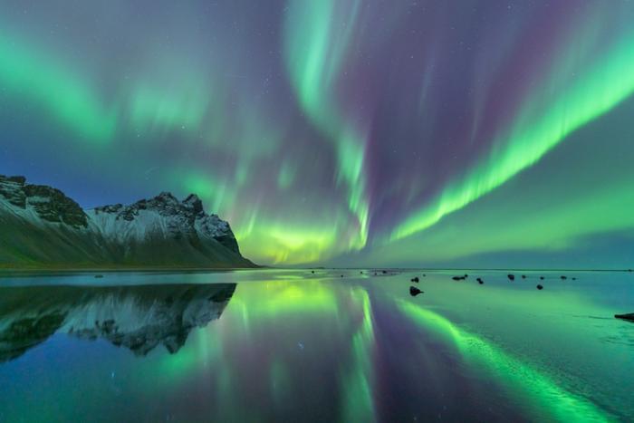 Aurora Boreal Campo Eletromagnético