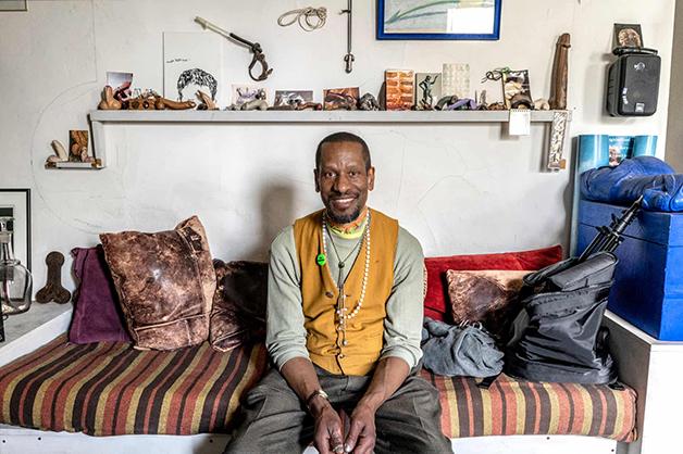 """Sur Rodney e sua casa no livro """"New Yorkers"""""""
