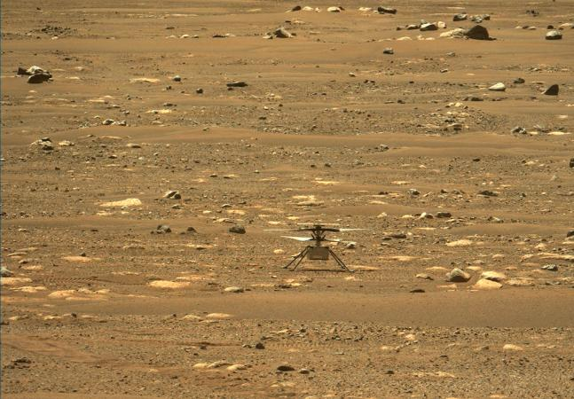 Nasa faz história com primeiro voo de helicóptero direto de Marte