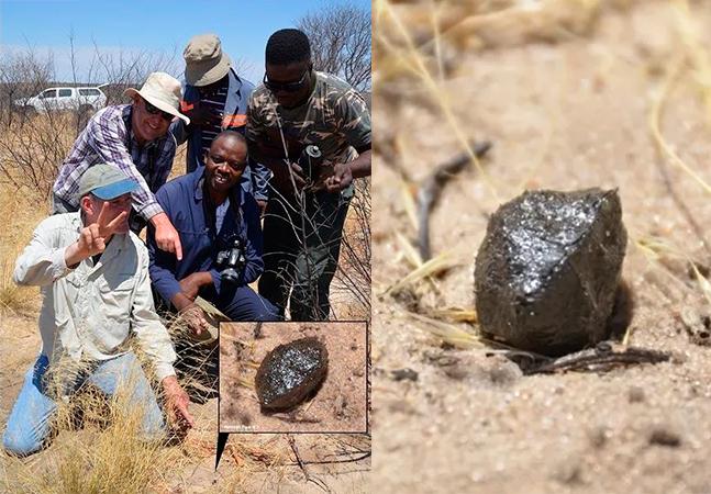 Meteorito achado na África pode estar ligado ao 2º maior asteroide do Sistema Solar