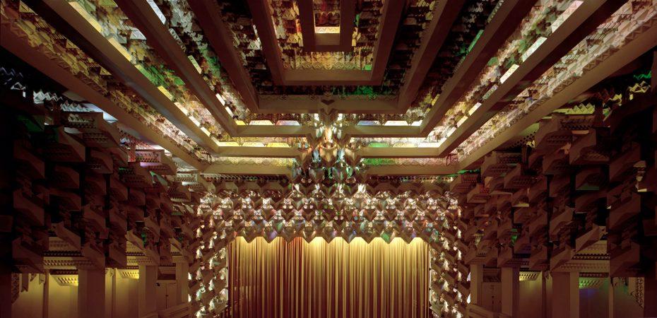 Capitol Theatre, Melbourne, Austrália, 1924, projetado pelos Griffins. © John Gollings
