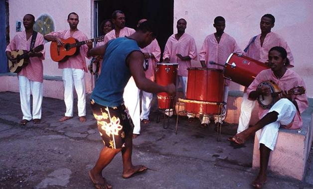 Dança em Samba de Roda