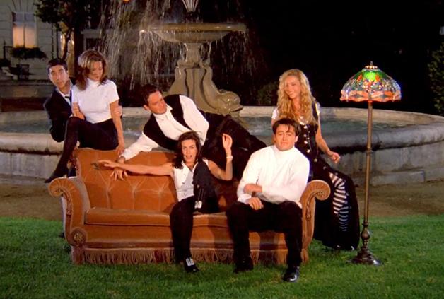 O elenco de Friends