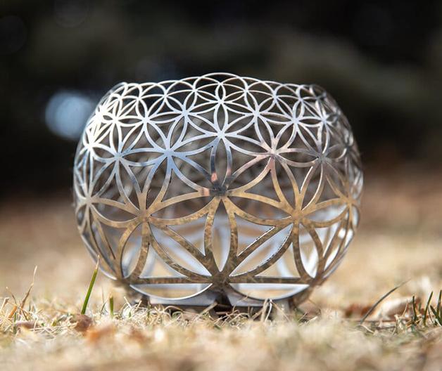 Porta-velas de Projeção Geométrica de Blanpied
