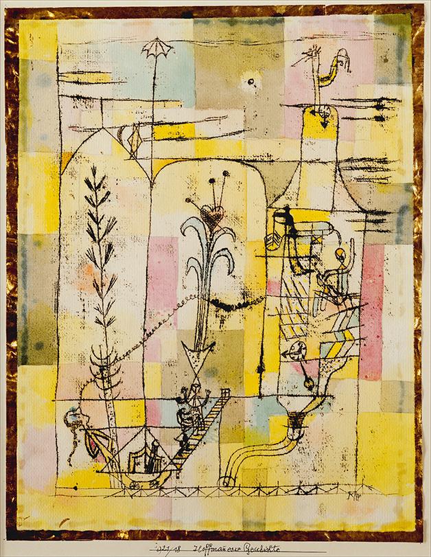 """""""Tale à la hoffmann"""", quadro de Paul Klee de 1921"""