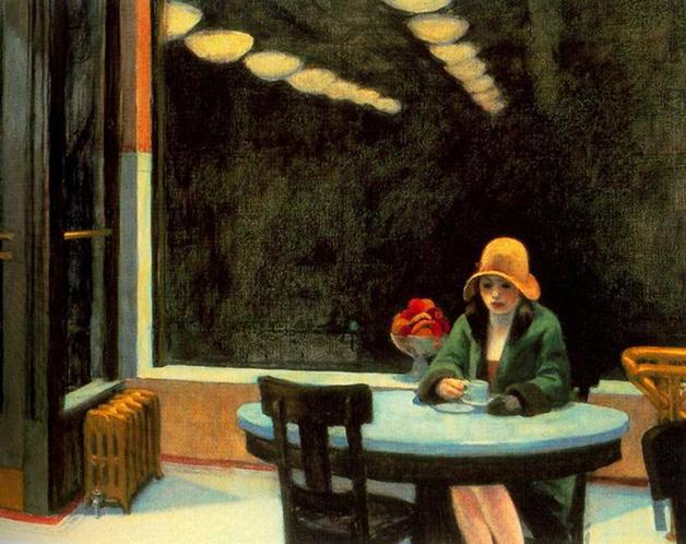"""Automat"", quadro de Hopper de 1927"