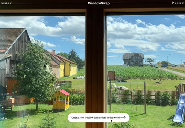 Espie pela janela e veja a vista de cidades do mundo todo nesse site