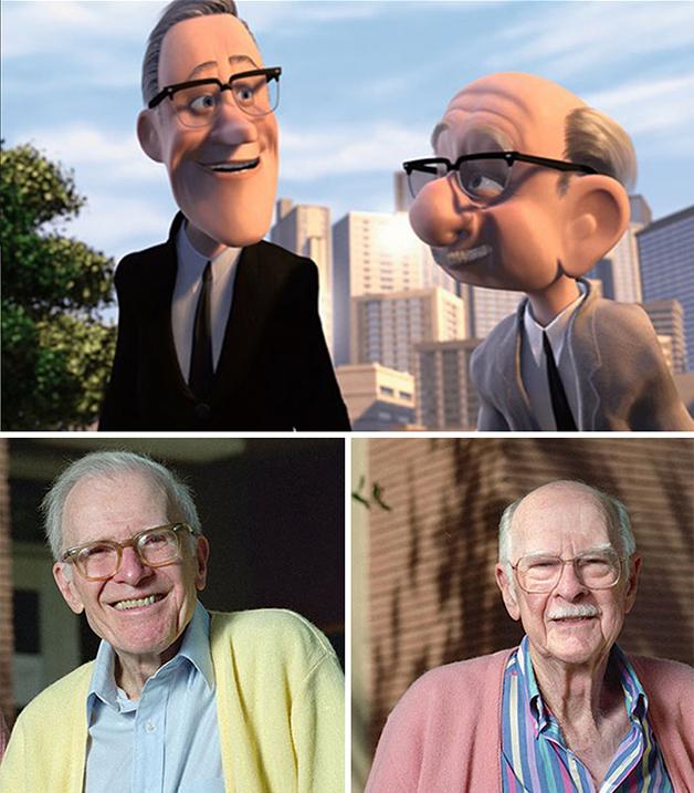 Os dois grandes animadores são homenageados no filme