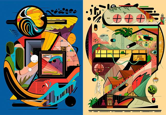 As incríveis – e improvisadas – ilustrações do israelense Ori Toor