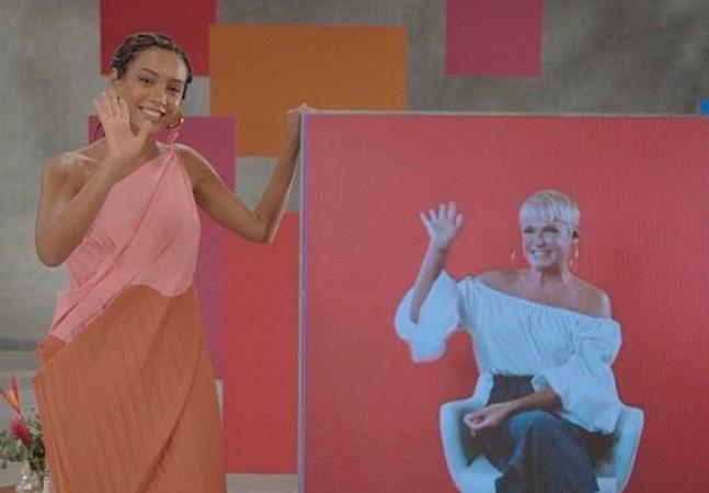 Xuxa diz querer ser negra e ouve verdades de Taís Araújo