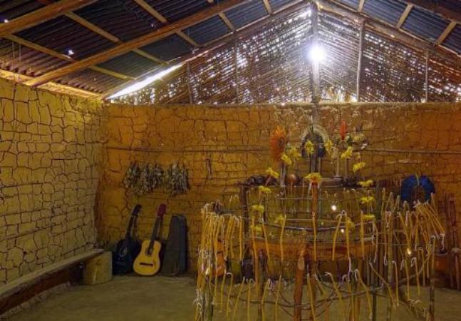 Conheça a aldeia indígena de Tekoa Itakup neste tour virtual