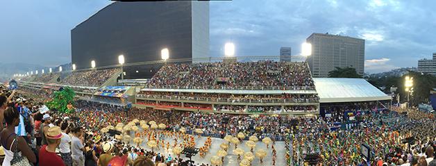O Sambódromo do Rio