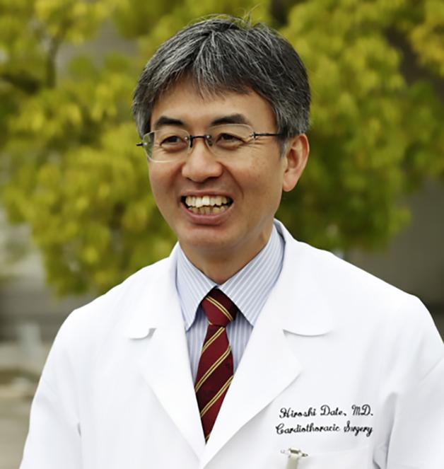 O cirurgião torácico Hiroshi Date