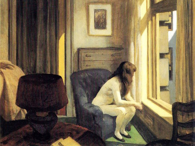 """Eleven A.M."", quadro de Hopper de 1926"