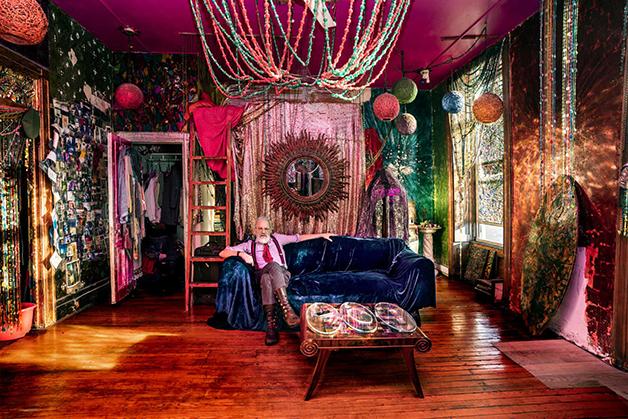 """Gerald DeCock e sua casa no livro """"New Yorkers"""""""