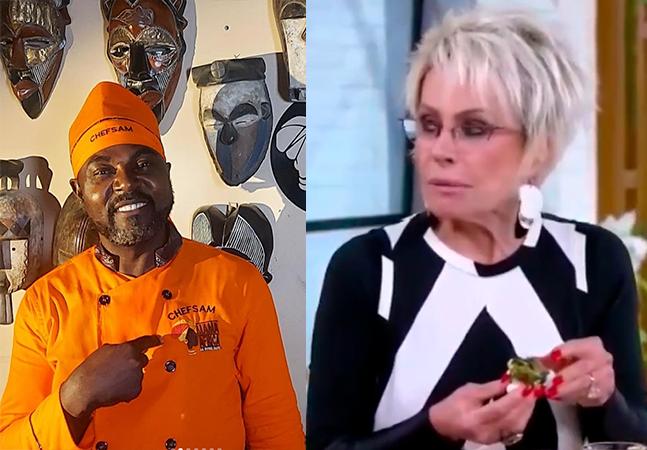 Ana Maria Braga debocha de prato africano e recebe crítica de chef por xenofobia