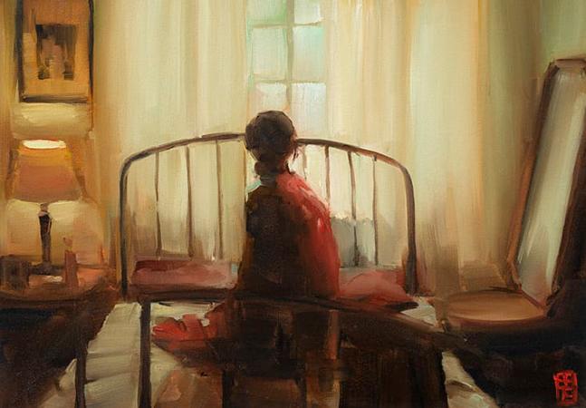 Nas pinturas dessa incrível artista sul-africana o cotidiano é transformado em sonho e luz