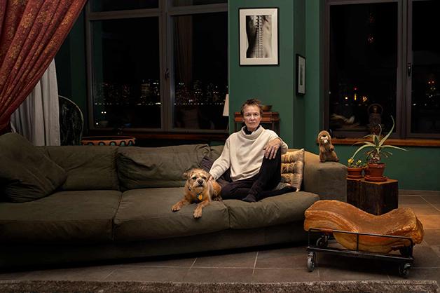 """Laurie Anderson e sua casa no livro """"New Yorkers"""""""