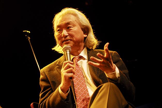 O professor Michio Kaku